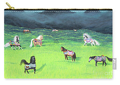 Carousel Horse Retirement Carry-all Pouch