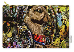 Carry-all Pouch featuring the photograph Carousel Rabbit by Michael Arend