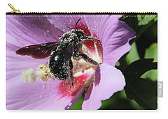 Carry-all Pouch featuring the photograph Carpenter Dance by Rasma Bertz