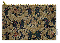 Textile Tapestry Carpet With The Arms Of Rogier De Beaufort Carry-all Pouch
