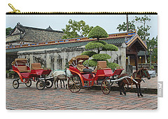 Carriage Rides Carry-all Pouch