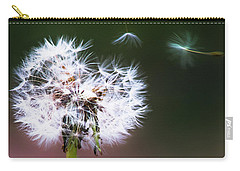 Carry-all Pouch featuring the photograph Carried By The Wind by Parker Cunningham