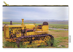 Carry-all Pouch featuring the photograph Carrizo Plain Bulldozer by Marc Crumpler