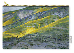 Carrizo Spring Mustard Carry-all Pouch