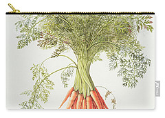 Carrots Carry-all Pouch by Margaret Ann Eden