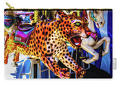 Carrousel Cheetah Carry-all Pouch