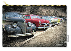 Carry-all Pouch featuring the photograph Cars For Sale by Marion Johnson
