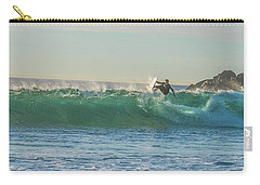 Carsbad Surfer Cutting In Carry-all Pouch