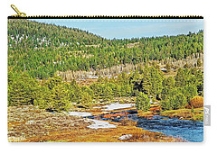 Carson Runoff Carry-all Pouch by Nancy Marie Ricketts