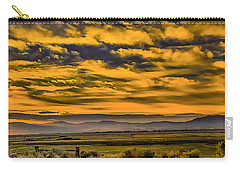 Carson Valley Sunrise Carry-all Pouch by Nancy Marie Ricketts