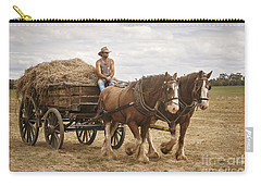Carting Hay Carry-all Pouch