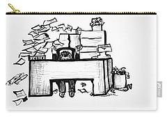 Cartoon Desk Carry-all Pouch