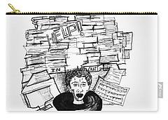 Cartoon Inbox Carry-all Pouch
