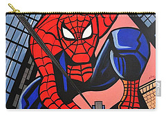 Cartoon Spiderman Carry-all Pouch