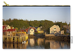 Carvers Harbor At Sunset, Vinahaven, Maine Carry-all Pouch
