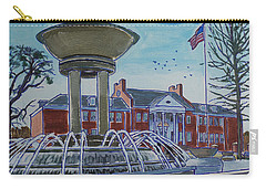 Cary Arts Center And Fountain Carry-all Pouch