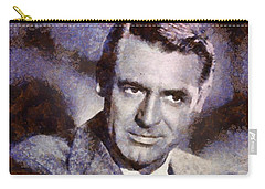Cary Grant Hollywood Actor Carry-all Pouch by Esoterica Art Agency