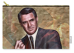 Cary Grant - Square Version Carry-all Pouch
