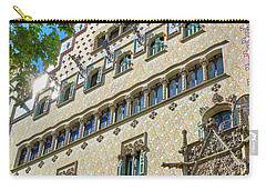 Carry-all Pouch featuring the photograph Casa Amatller In Barcelona by Eduardo Jose Accorinti