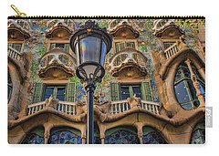 Casa Batllo Gaudi Carry-all Pouch by Henry Kowalski