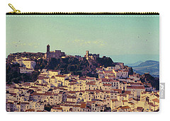 Casares Espana In Golden Light Circa 1972 Carry-all Pouch