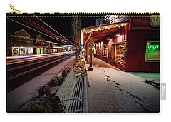 Carry-all Pouch featuring the photograph Cascade Avenue by Cat Connor