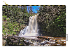 Cascade Falls In Spring Carry-all Pouch