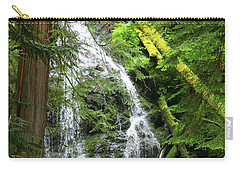 Cascade Falls - Orcas Island Carry-all Pouch