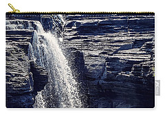 Carry-all Pouch featuring the photograph Cascade by Kendall McKernon