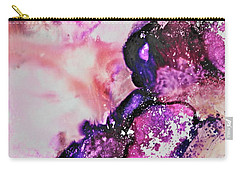 Carry-all Pouch featuring the painting Cascade by Michele Myers