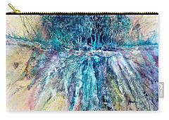 Carry-all Pouch featuring the painting Cascade Ridge by Carolyn Rosenberger