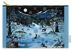 Cascade Snowflake Carry-all Pouch