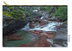 Carry-all Pouch featuring the photograph Cascades by Gary Lengyel