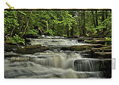 Cascades In The Rain Carry-all Pouch