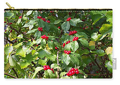 Cascading Berries Carry-all Pouch
