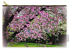 Cascading Dogwood Copyright Mary Lee Parker 17, Carry-all Pouch