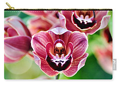 Cascading Miniature Orchids Carry-all Pouch