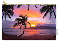 Cascading Palms Carry-all Pouch