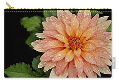 Cascading Rain Droplets Carry-all Pouch