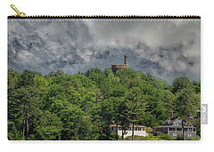 Carry-all Pouch featuring the photograph Casco Castle 5733 by Guy Whiteley