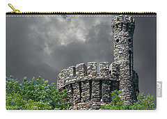 Carry-all Pouch featuring the photograph Casco Castle by Guy Whiteley