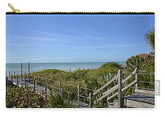Carry-all Pouch featuring the photograph Casey Key by Carol Bradley