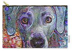 Cash The Blue Lacy Dog Closeup Carry-all Pouch