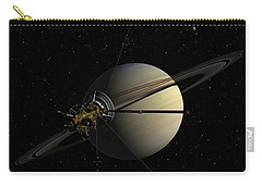 Cassini Orbiting Saturn Carry-all Pouch