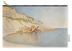 Cassis. Cap Lombard. Opus 196 Carry-all Pouch by Paul Signac