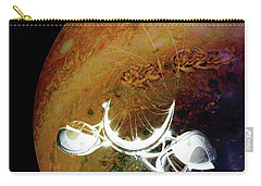 Carry-all Pouch featuring the photograph Cast Away by Alex Lapidus