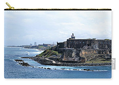 Castillo San Felipe Del Morro Carry-all Pouch by Lois Lepisto