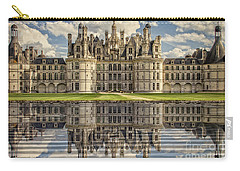 Carry-all Pouch featuring the photograph Castle Chambord by Heiko Koehrer-Wagner