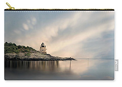 Carry-all Pouch featuring the photograph Castle Hill Light by Robin-Lee Vieira