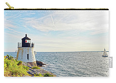 Castle Hill Lighthouse In Summer Horizontal Carry-all Pouch